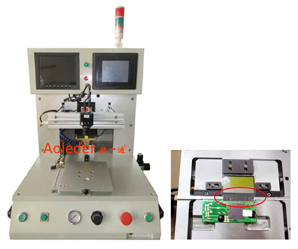 Heat Bonding Machine,SMT Assemble Soldering Robot Pulse Thermode Hot Bar Soldering,CWPP-3A