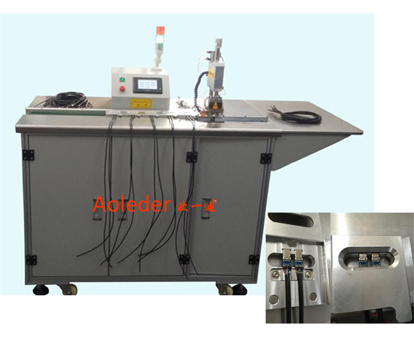 Double Side Soldering at the Same Time USB Wire Hot Bar Solderiing Machine ,CWPDY2IN
