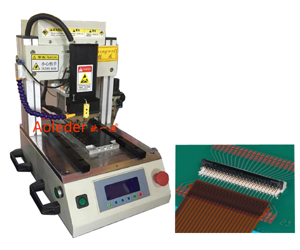 FPC Hotbar Soldering  Machine,High Precision Hot Bar Soldering Machine Bonding For FPC To PCB,CWPP-1S