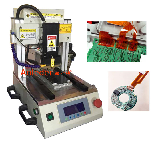 CWPP-1S FPC Floating Thermode Auto-soldering Machine,FPC Hot Bonding Machine
