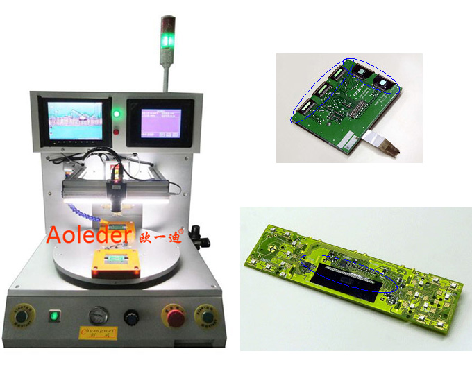 Micro Soldering Machine,Manual CCD + LCD Monitor Hotbar Soldering Robot,CWPC-3A