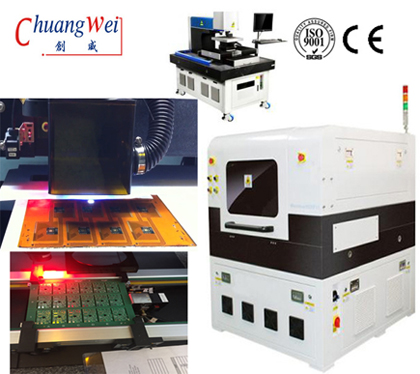 Inline DIY PCB Cutter,PCB V Cut Sepecification with Laser Cutting Machine,CWVC-5L