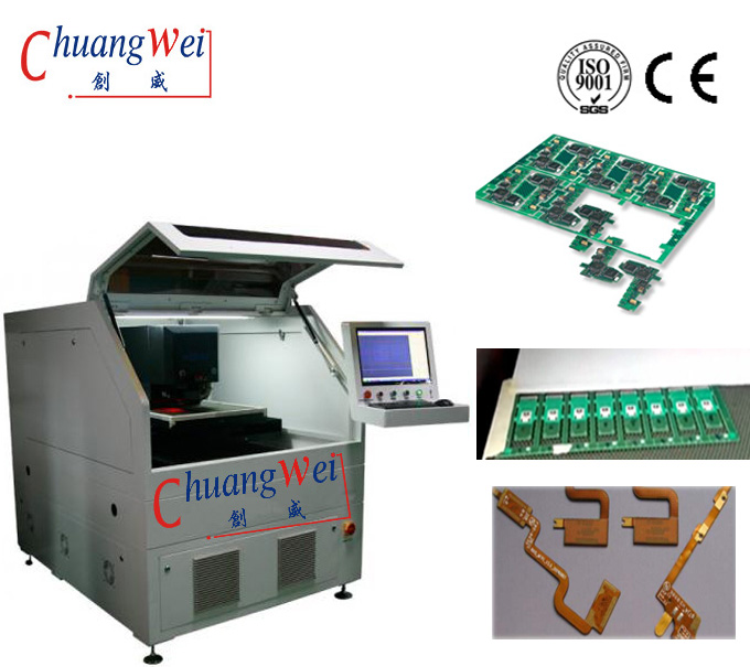 Optowave Laser Pcb Separator Machine For Non Contact,CWVC-5S