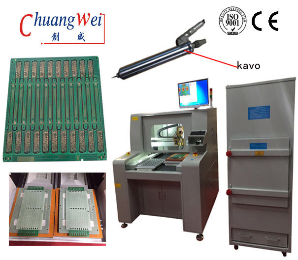 Economic Semi Automatic Router Machine-PCB Router Machines,CW-F04