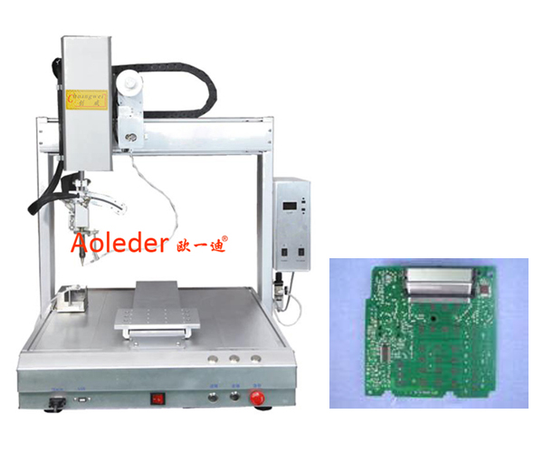China Online Soldering Robot,CWDH-411