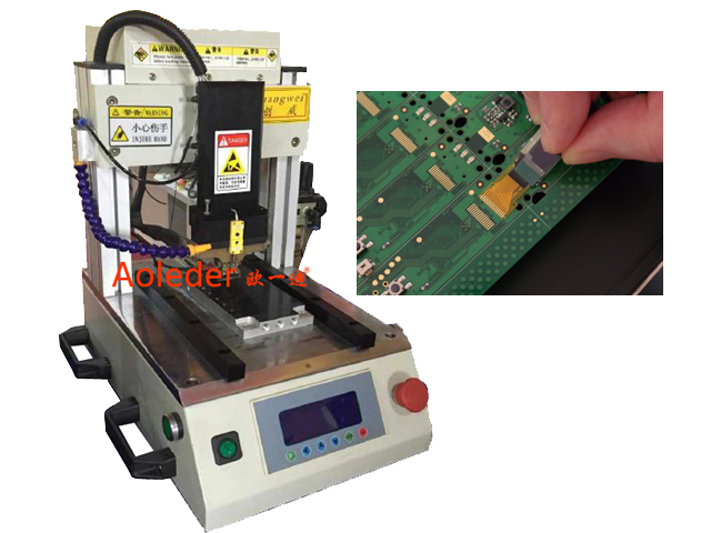 FPC Hotbar Soldering Connector  Machine,CWPP-1S