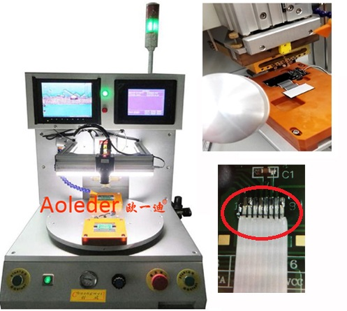 Standard Electronics Hot Bar Soldering Machine HSC To LCD Or PCB,CWPC-3A