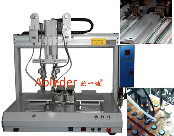 Automated High Speed & High Volume Soldering Robot,CWDH-322
