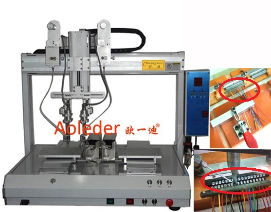 Double Solder Head Soldering Machine,Automative Robotic Soldering Robot,CWDH-322