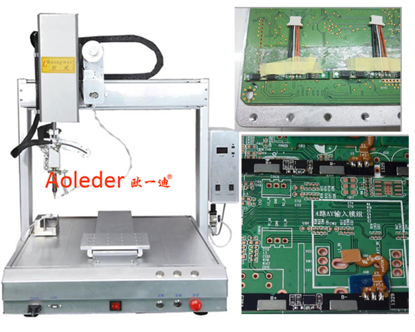Selective Soldering for Wire Solder,Welding Machine for Wire,CWDH-411