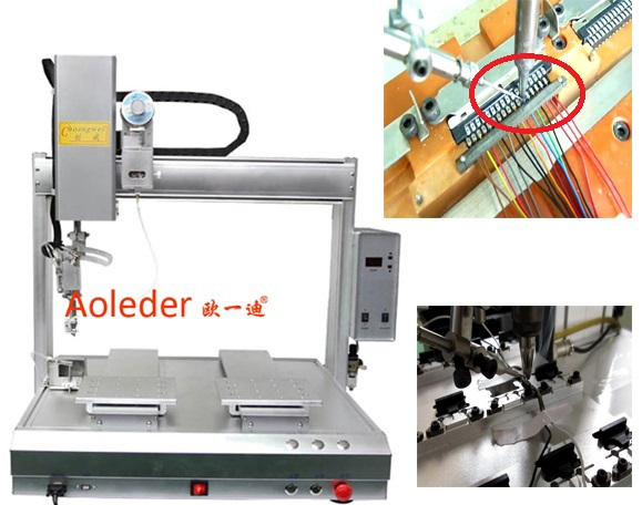 Special Soldering Processing Assembly Automation, PCB Robotic Soldering Tin Robot,CWDH-412
