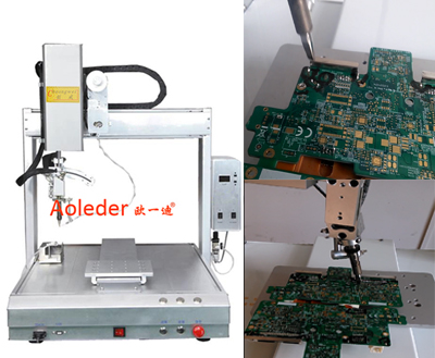Wire to PCB Robotic Soldering Robot,CWDH-411