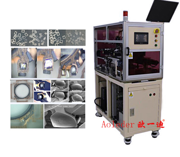 CCD Identification Position in Selective Laser Soldering Machine for Soldering Tin Wire,CWLS-W