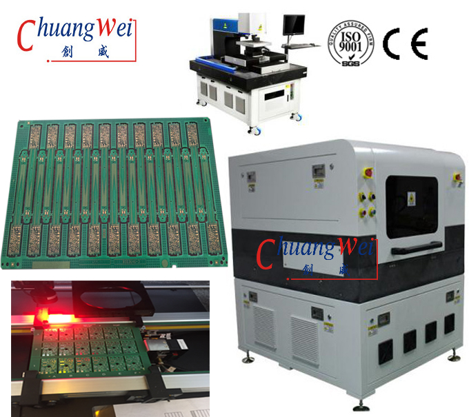 Inline Laser PCB Depaneling Machine Connecting Conveyor for SMT Production Line,CWVC-5L