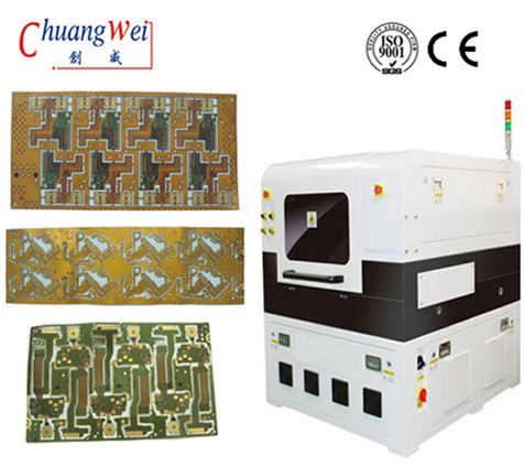 FPC Laser Depanelizer Machine,Printed Circuit Board Laser PCB Depaneling Machine,CWVC-5L