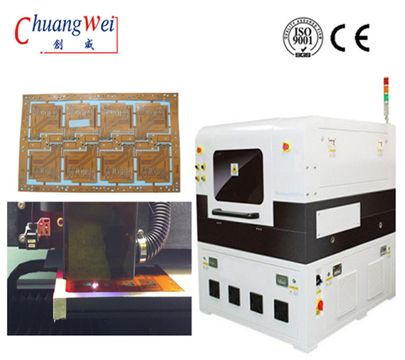 Manufacturing Flexible Circuit Board Laser Depaneling Inline Laser Cutting,CWVC-5L