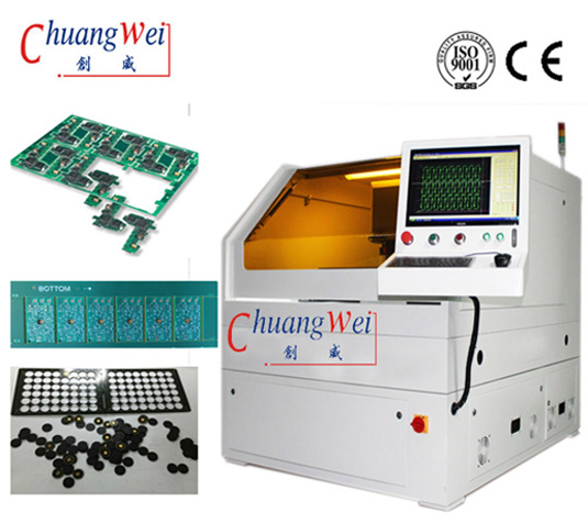 Custom PCB UV Laser Cutting Machine For Printed Circuit Board FPC,CWVC-5S