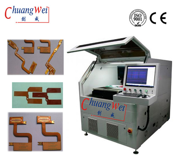 High Precision UV CNC Laser Cutting Machine For FPC,CWVC-5S