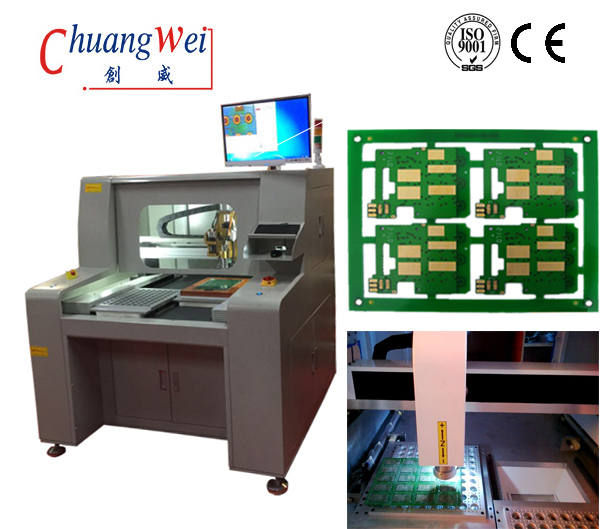 PCB Router with High Speed Cutting by 4 Axes Control,CW-F04