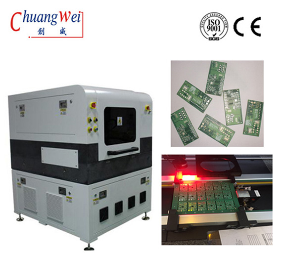 UV Laser Cutting Machine for FPC Depaneling with Auto-focus Function,CWVC-5L