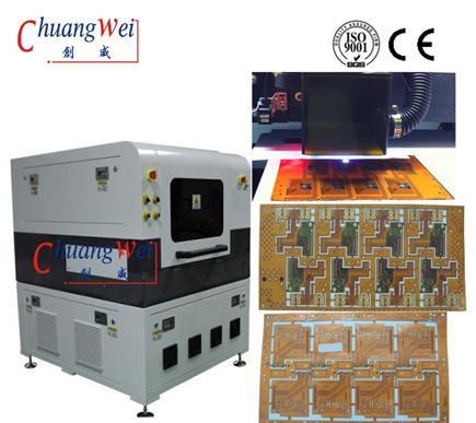 Cutting FPC - PCB Laser Depaneling Machine with CE Certification,CWVC-5L