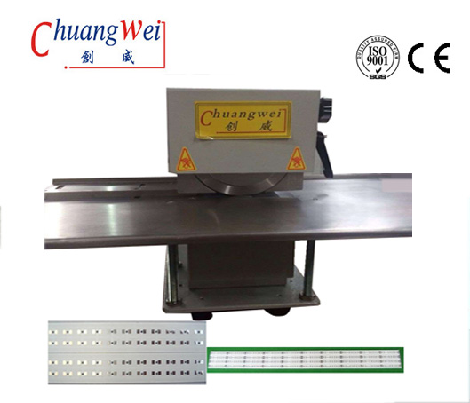 High Speed Steel Blades V - Cut PCB Separator For Aluminium Led Lighting T8 Tube,CWVC-1SJ
