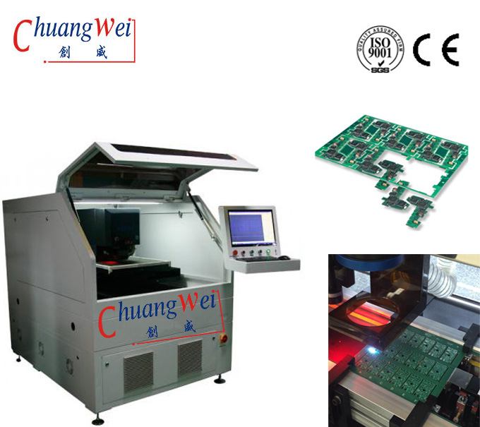 FPC Laser Cutting/ Depaneling Solutions,FPC Flexible PCB Laser Cutting Machine,CWVC-5S