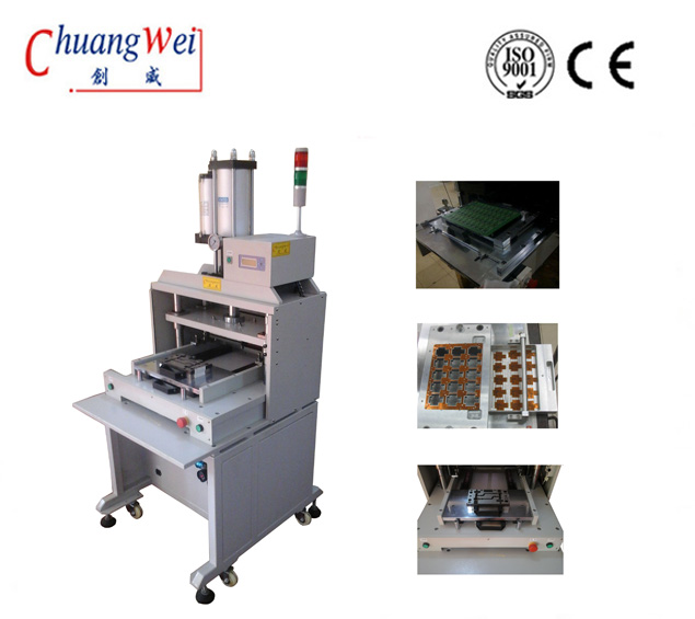 High Precision Pcb / Fpc Punch Separator, Pcb Depaneling Machine For Pcb Assembly,CWPE