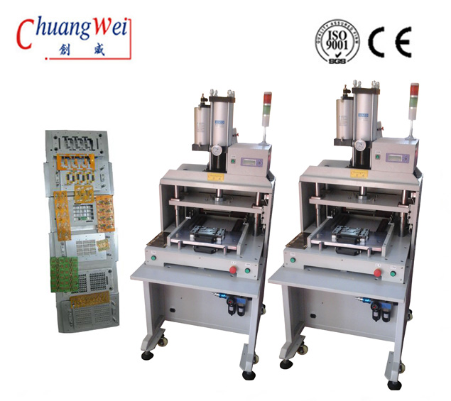 Pcb Depaneling Machine With Moveable Lower Die, High Efficiency Fpc / Pcb Punch Mold,CWPE
