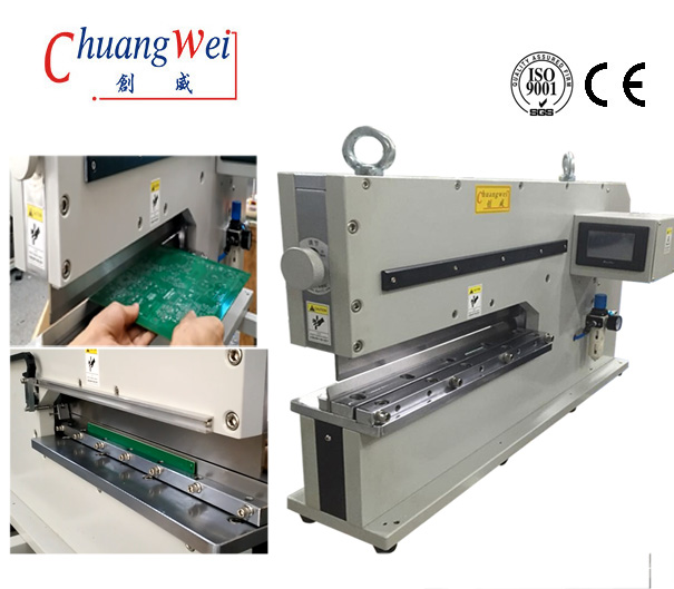 PCB Separator Pcb V Cut Machine With Pneumatically Driven,CWVC-480