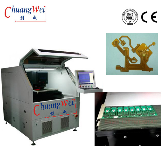 Fr4 PCB Cutting with Laser Fpc/Pcb Depanelization,Laser Fpc Separator Equipment,CWVC-5S
