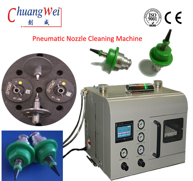 Full Automatic SMT Nozzle Cleaning machine of Nozzle Cleaner‎,CW-36