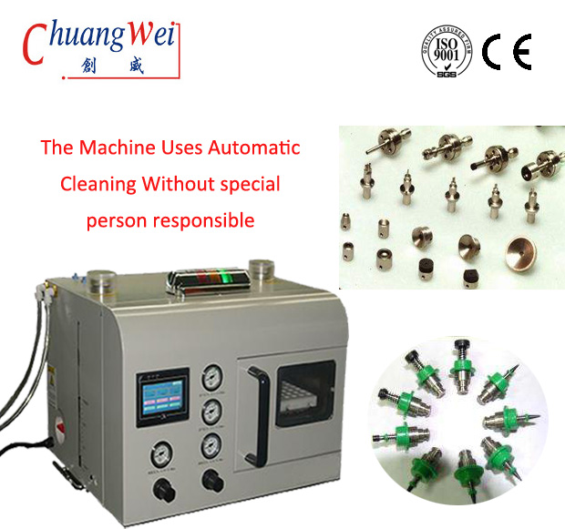 Nozzle Cleaning Machine Most Popular New SMT Nozzle Cleaning,CW-36