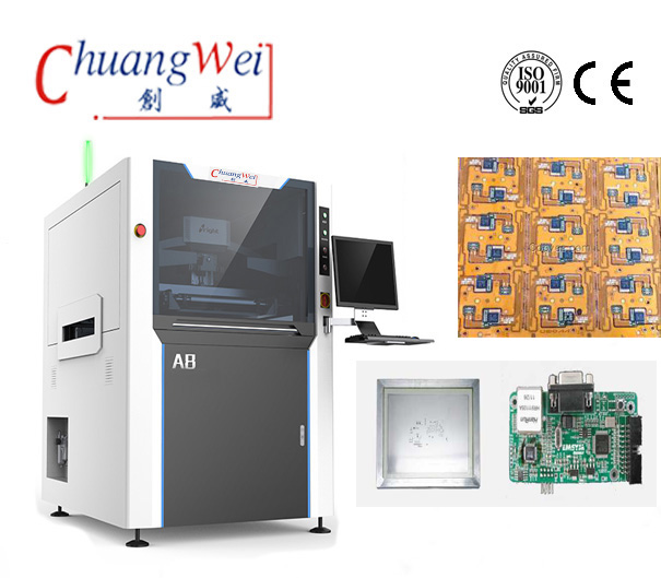 High Efficient Solder Paste Printing Machines Ensure Error-Free Manufacturing,CW-A8