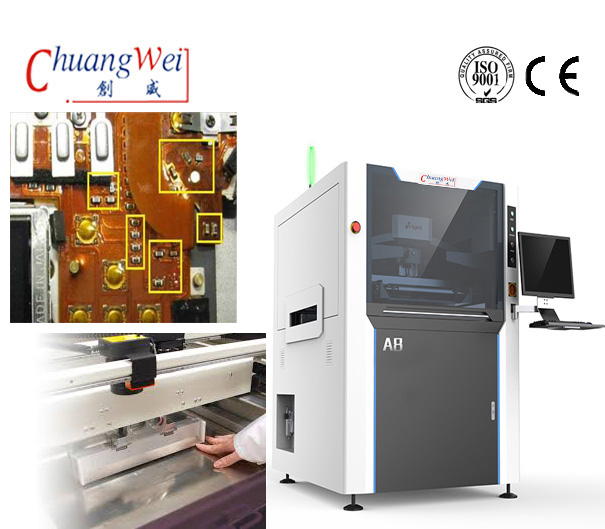 High Accuracy SMT LED PCB FPC Stencil Printer Machine for Solder Paste Printing,CW-A8
