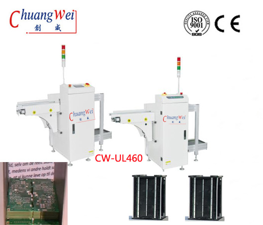 Online PCB Magazine Unloaded For Assembly,CW-UL460