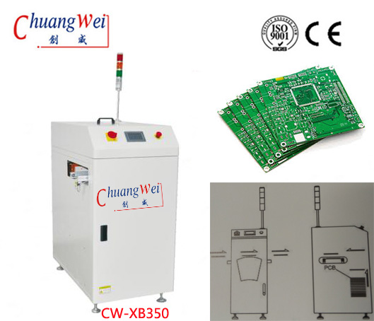 Optional Mode PLC System for PCB PWB SMT Loader,CW-XB350