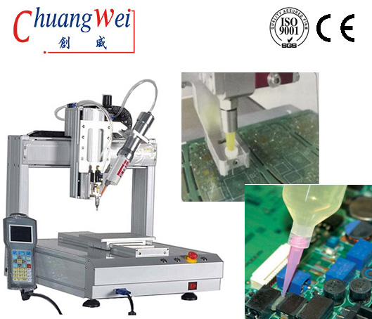 PCB ic Chips Dispensing Glue SMT Production Line Black Glue,CW-AB