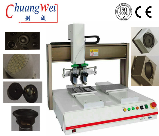 Double Table Glue Adhesive Dispensing Machine Suit for Smt,CWDJ-322