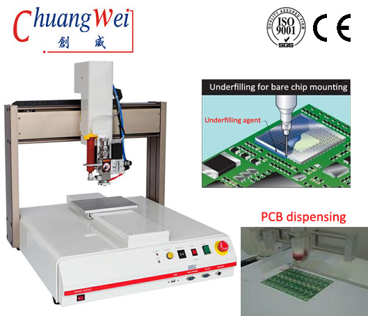 Import Data and Price of Glue Dispensing Machine under Bar Code,CWDJ-311