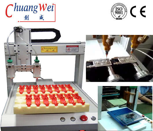 China Glue Dispensing Equipment on pcb-soldering.com,CWDJ-312