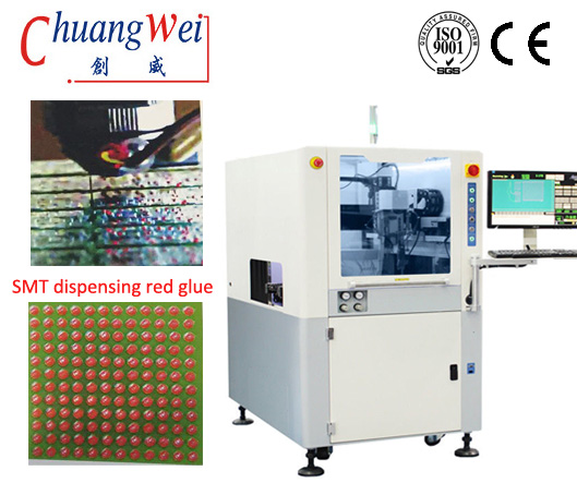 Using Red Glue Conformal Coating Machine for SMT / PCB,CWCC-3L