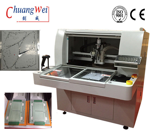 Economic Semi Automatic Router Machine,CW-F01-S