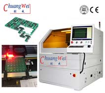 CWVC-5S for Flex PCBa Separated by UV Laser Depanel,FPC Cutter Equipments