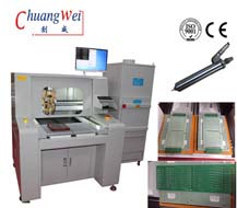 Router Machines,PCB Cutting Equipment with CNC Manual Loading/unloading,CW-F04