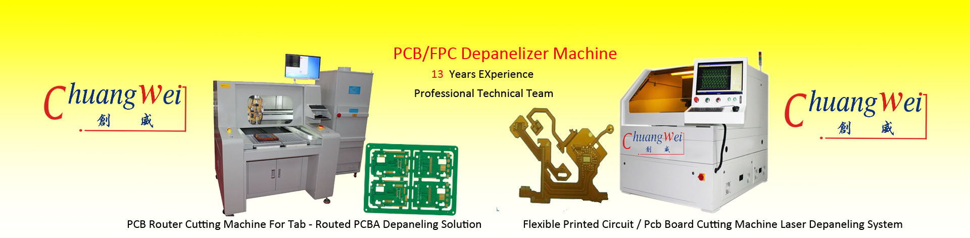 PCB Router Depanelizer Machine