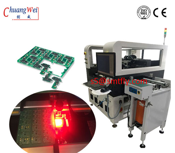 FPC Online Laser Cutting Machine For PCB Depaneling Equipment Customizable Working Field