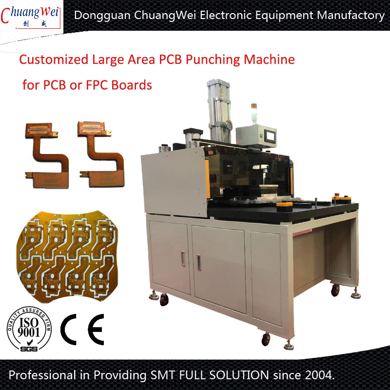 China Customized Automatic PCB Punch Machine for Customer's Request